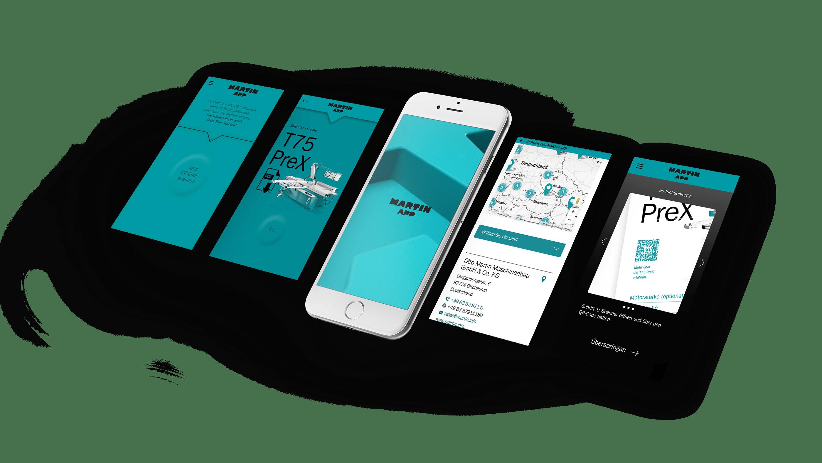 Responsive Webdesign | Webentwicklung MARTIN Maschinenbau – ZWEIPRO Werbeagentur