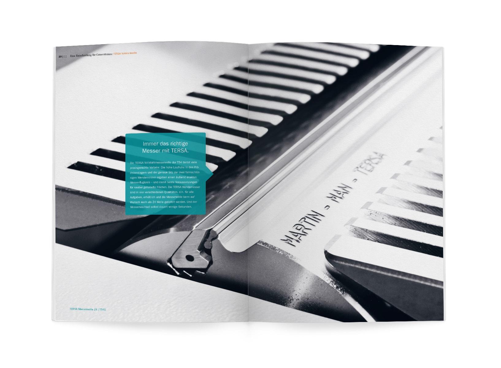 """Printmedien | Corporate Design MARTIN Maschinenbau – ZWEIPRO Werbeagentur"""
