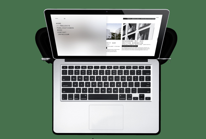 Webdesign Döring Architekten – ZWEIPRO Werbeagentur für Architekten