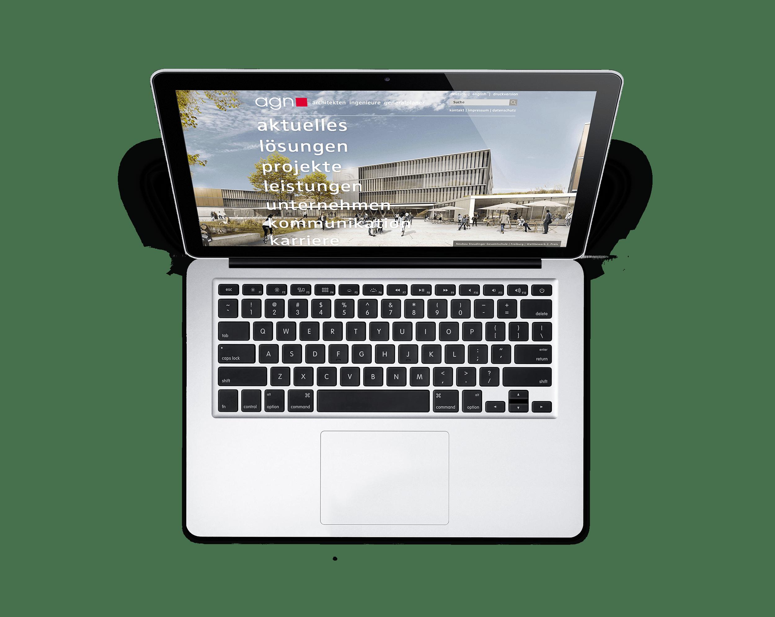 Responsive Webdesign | Webentwicklung agn Architekten – ZWEIPRO Werbeagentur für Architekten