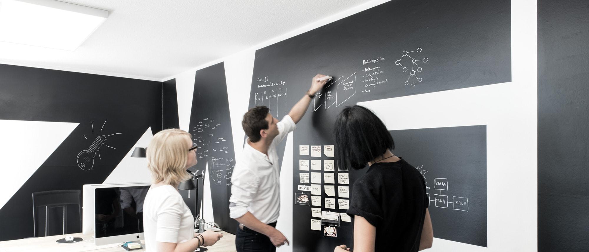 ZWEIPRO Kreativagentur - Interior process