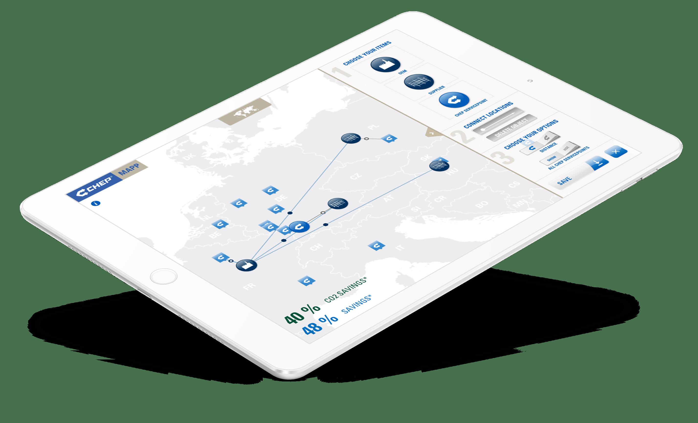 App-Entwicklung für Tablet-Abwendung von ChepMapp – ZWEIPRO Digitalagentur für Apps