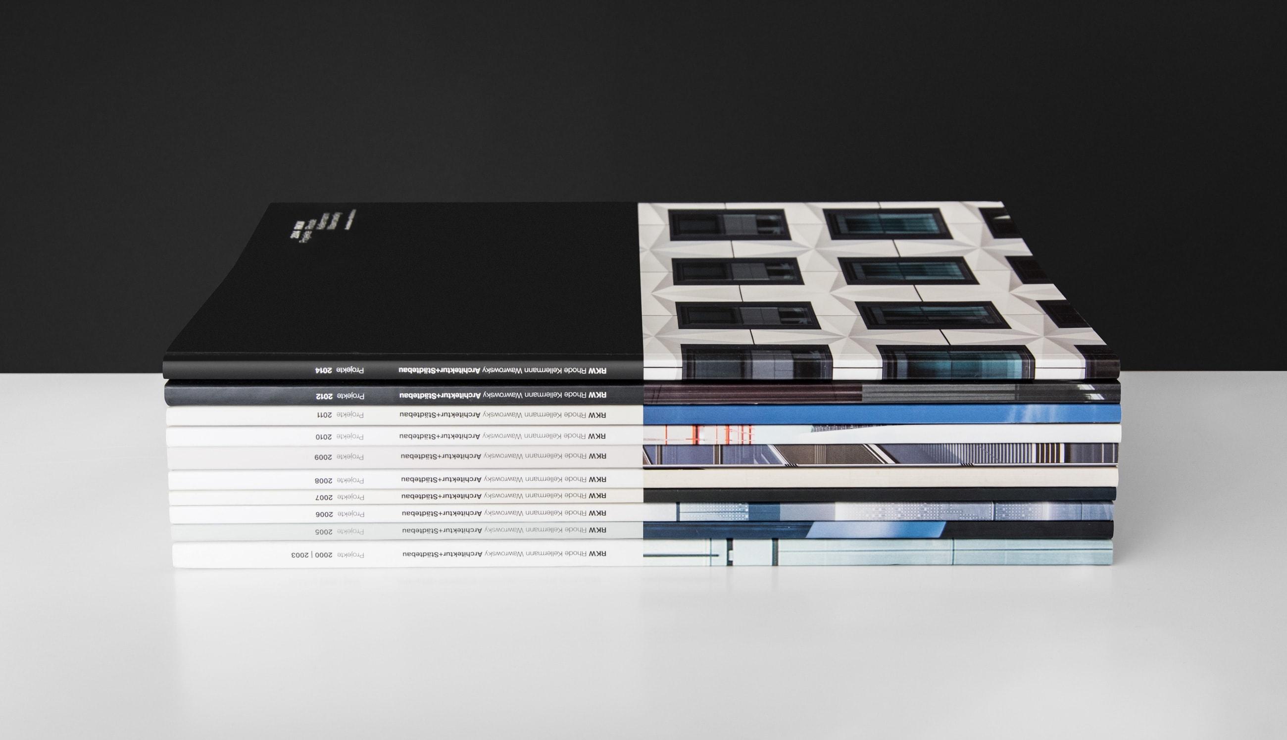 Printmedien | Corporate Design RKW Architektur – ZWEIPRO Werbeagentur für Architekten