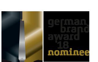 German Brand Award Nominee für Werbeagentur ZWEIPRO aus Düsseldorf