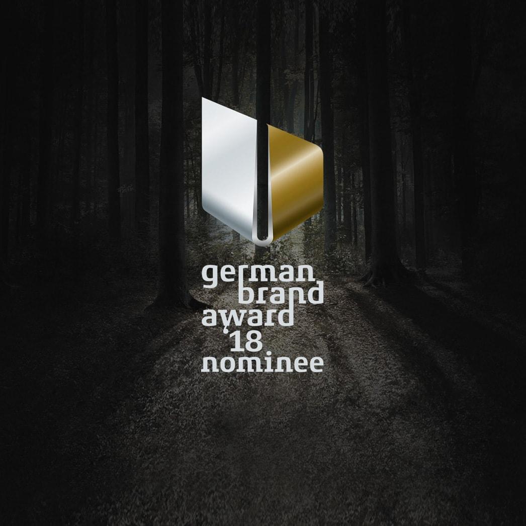 Markendesign von MARTIN nominiert für German Brand Award 2018